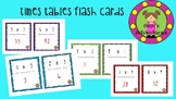 Times tables flash cards