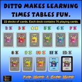 Times tables fun with Ditto - Complete Collection