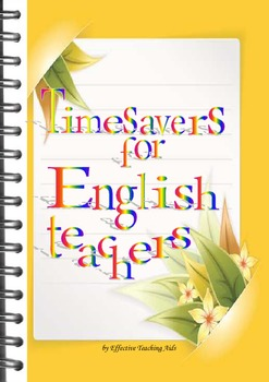 Timesavers for teachers of English