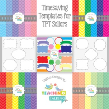 Timesaving Templates for TPT Sellers (Editable Powerpoint files)