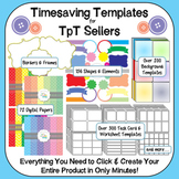 Clipart for TPT Sellers ~ Templates, papers and borders