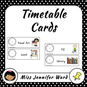 Timetable Cards