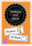 Timetable/Schedule and Clocks