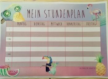 Timetable Templates - Bundle