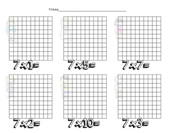 Multiplication Facts and Arrays