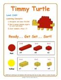 Timmy Turtle - Brick Building Kit Instruction