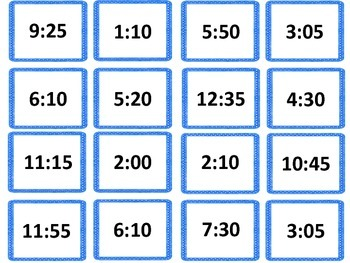 Time Bump Freebie! Telling time to 5 minutes