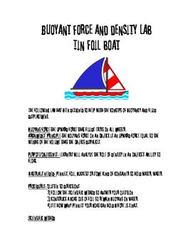 Tin Foil Boat Lab-Archimedes' Principle