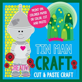 Tin Man Wizard of Oz Craft