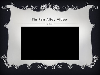 Tin Pan Alley & Authors