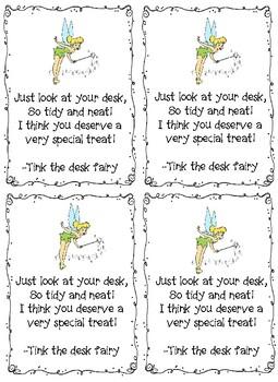 Tink the Desk Fairy