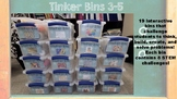 Tinker Bins-152 STEM Challenges in Science, Technology, Engineering, Math