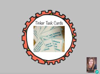 Printable Tinker Time Task Cards