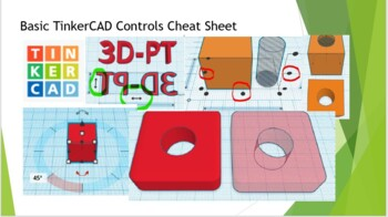 TinkerCAD Overview Cheat Sheet