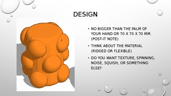 TinkerCAD overview presentation