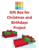 TinkerCAD step-by-step instructions for Gift Box for Christmas and Birthdays