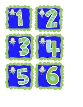 Tinkerbell Ten Frame Center 0-20