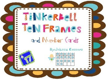 Tinkerbell Ten Frame Center 0-20