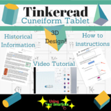 Tinkercad Cuneiform Tablet