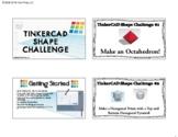 Tinkercad Shape Challenge Online STEM
