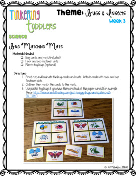 Tinkering Toddlers October Structured Playgroup Curriculum