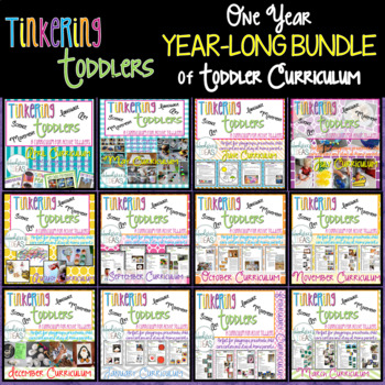 Tinkering Toddlers GROWING BUNDLE of Toddler Curriculum
