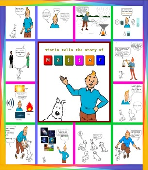 Matter unit : Tintin tells the story of Matter