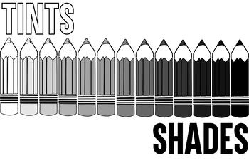 Tints & Shades Poster