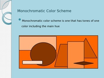 Tints, Shades, Value, and Monochromatic Art PowerPoint