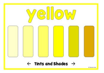 Tints and Shades (Colors)