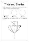 Tints and Shades Worksheet