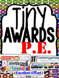 Tiny Awards for P.E. or Gym Class