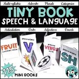 Tiny Books for Speech & Language