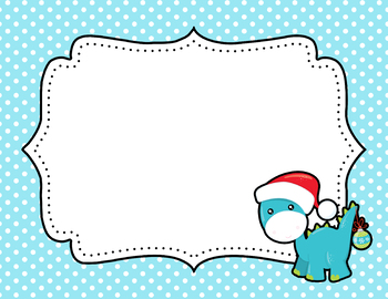 Tiny Dots Christmas Binder Covers {Editable FREEBIE}