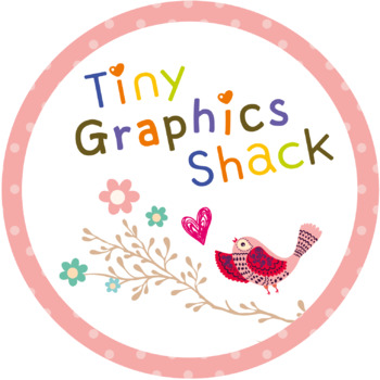 Tiny Graphics Shack Logo Button