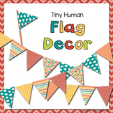 Tiny Human Flag Decor