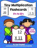 Tiny Multiplication Flashcards - Counting Dots - Special Ed