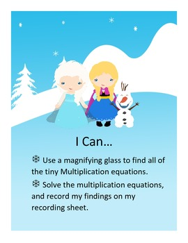 Tiny Multiplication Search: Snow Queen