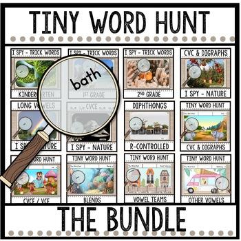 Tiny Word Hunt I SPY Big Bundle