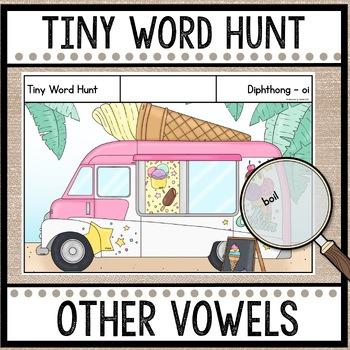 Tiny Word Hunt I SPY Long Vowels