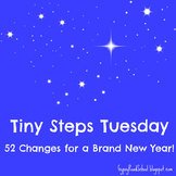 Tiny Steps Tuesday :  Small Changes for a Healthy Lifestyle