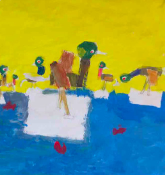 Tiny Still LIfes: Art Lesson for Lower Elementary