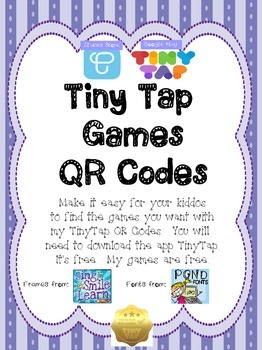 Tiny Tap QR Codes