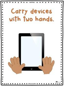 Tiny Teacher Technology Checklist & Poster Set
