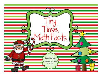 Tiny Tinsel Math Facts {Addition & Subtraction}