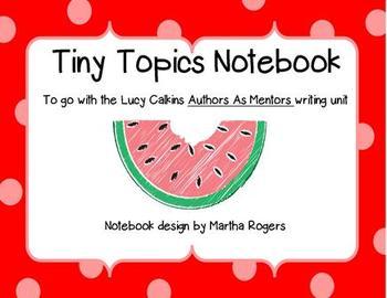 Tiny Topics Notebook