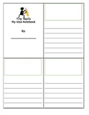 Tiny Topics Notepad with Lines and illustration box