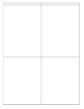 Tiny Topics Notepad without lines