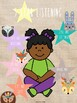 Tiny Tribe Cute Boho Tribal Woodland Animal Decor 5 Star Listening Posters