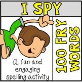 Tiny Word Hunt I SPY FRY 100 Words